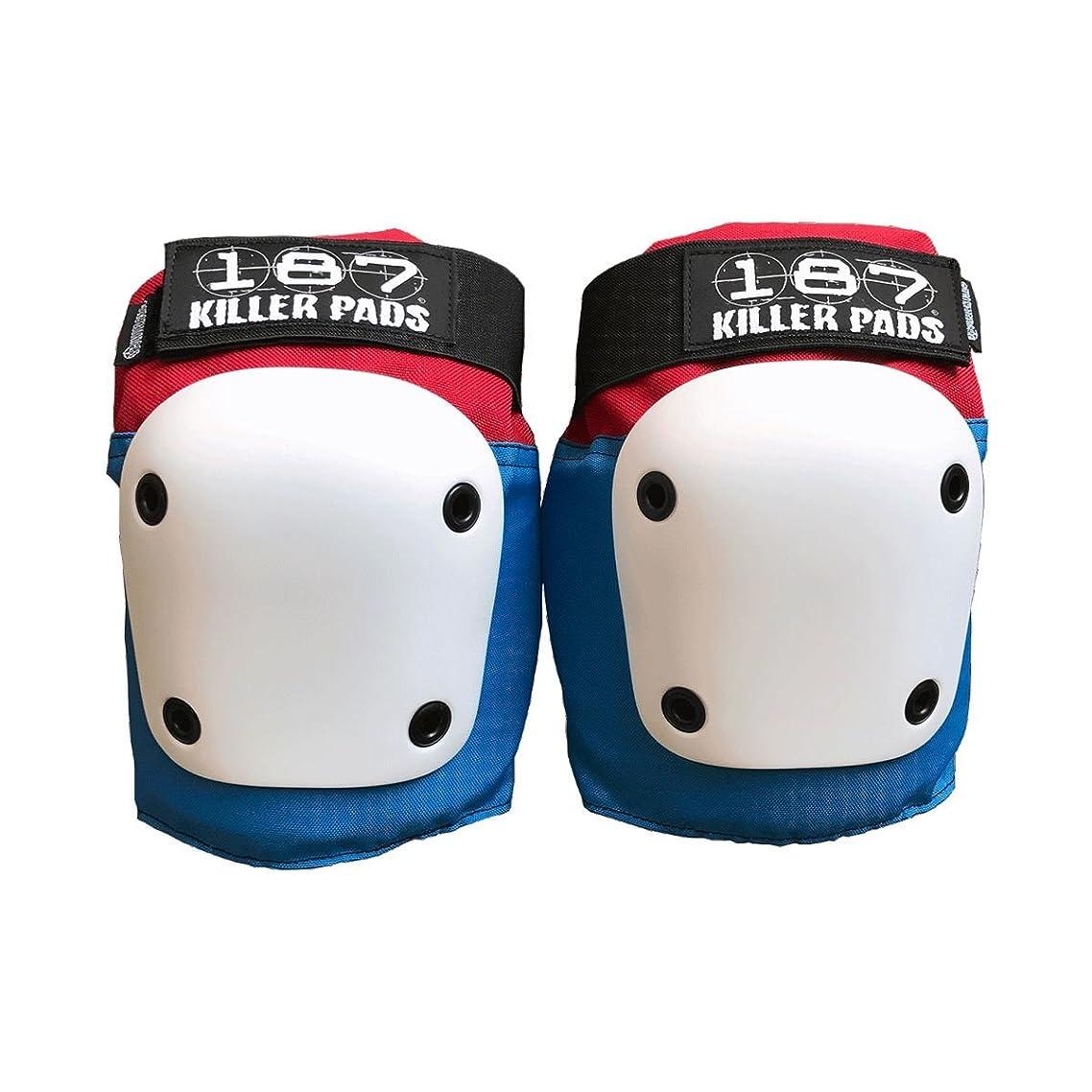 187 Killer Pads Fly Knee Red/White/Blue