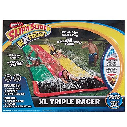Wham-O 20ft Slip N Slide Extreme XL Triple Racer Garden Water Slide