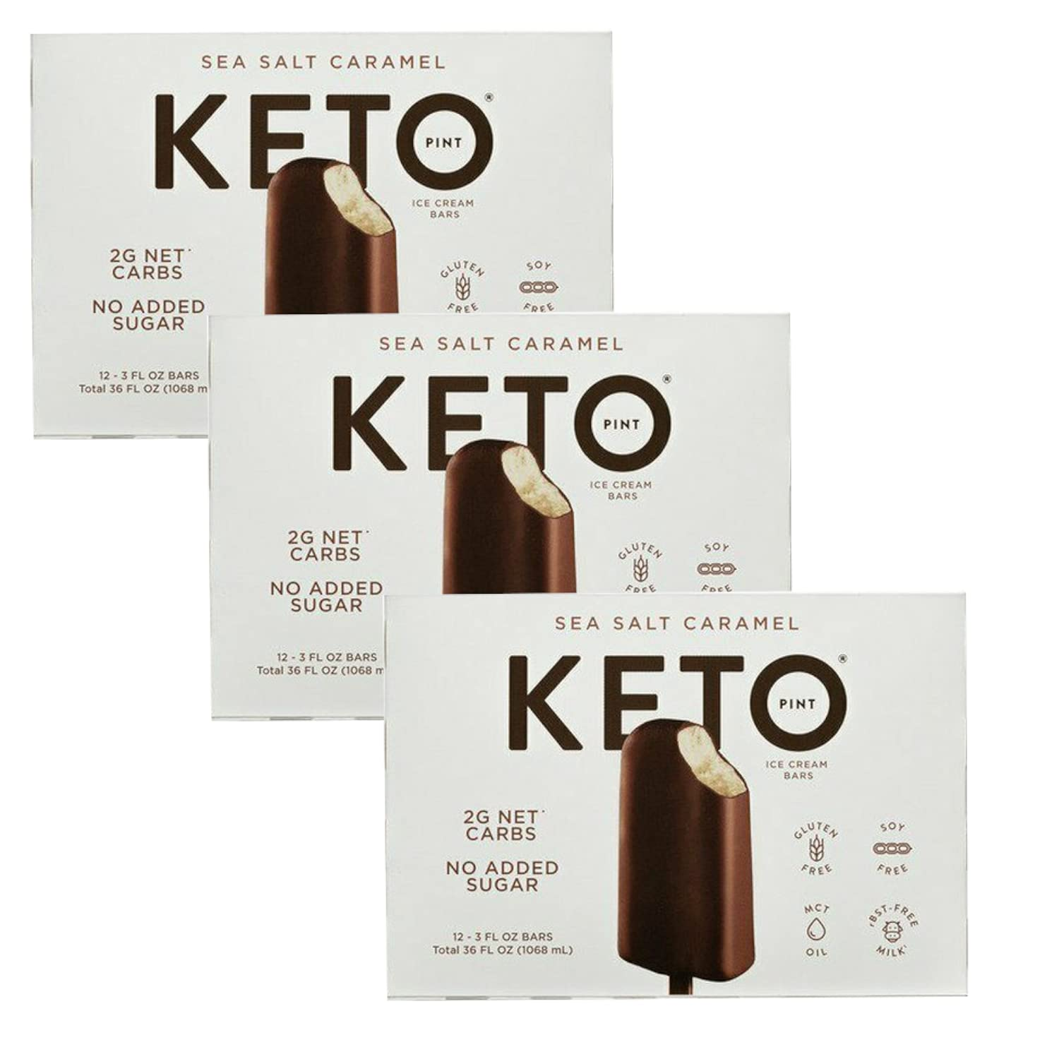 Same day shipping National uniform free shipping Keto Pint Delicious Clean - and Salt Sea Friendly Caramel