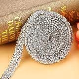 Decoraciones de plata Gemas artesanales, Diamante de plata, para accesorios de vestir para decoraciones