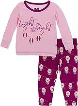 kickee pants cookie pajamas