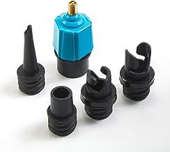 tEEZErshop Sup-ventieladapter, opblaasbare adapter/SUP-compressoradapter en 4 gaszuigmonden voor opblaasbare boten, stand-...