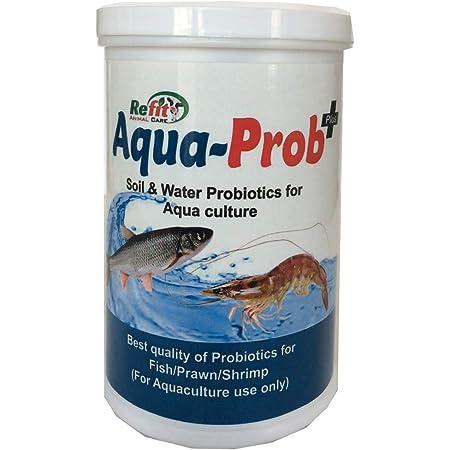 REFIT ANIMAL CARE - Biofloc Probiotic for Fish Farming, Shrimp & Aquaculture(Aqua Prob+ Powder 500 GMS.)