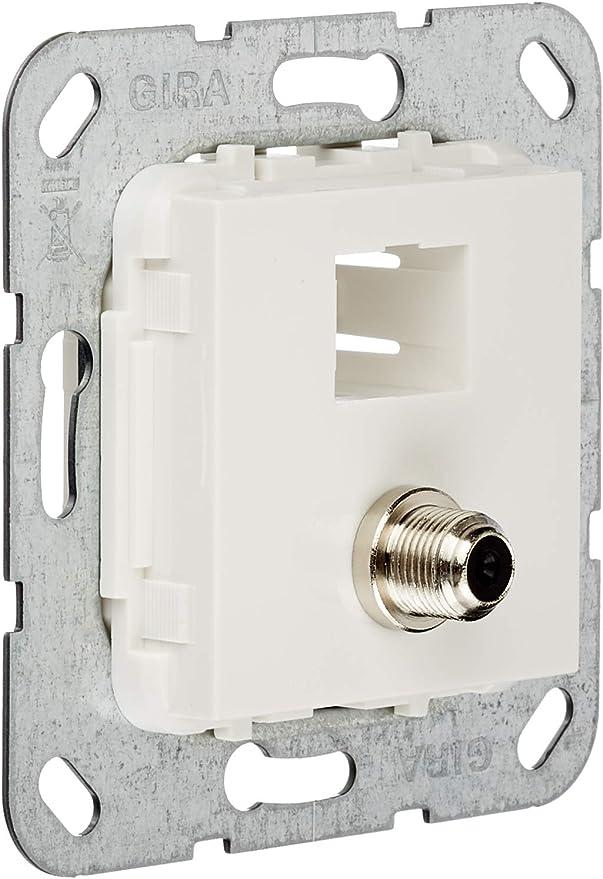 Gira 569903 MJ RJ45 Cat 6A 10 GB 4x LSA Plus Insert Pure White