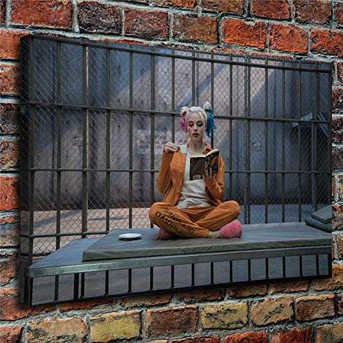 61wlpW0QcPL Harley Quinn Canvas Wall Art