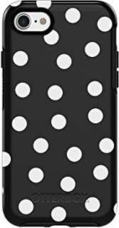 OtterBox Symmetry Series Case for iPhone 8 & iPhone 7 (NOT Plus) - Bulk Packaging - Date Night (Black/White Polka DOT Graphic)