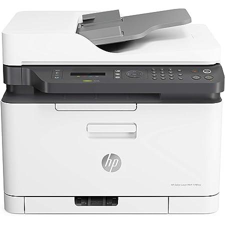 HP Color Laser MFP 179fnw - Impresora láser multifunción, color, Wi-Fi, Ethernet (4ZB97A)