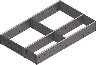 "Blum, Orga-Line 3-Tier Utensil Organizer Set, For 20"" Tandembox Plus Drawer, Stainless Steel"