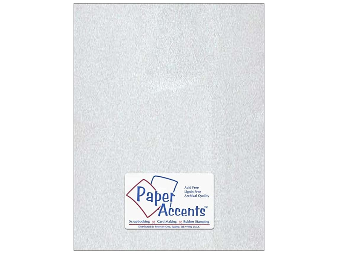 Vellum 8 1/2 x 11 in. Silver (25 sheets)