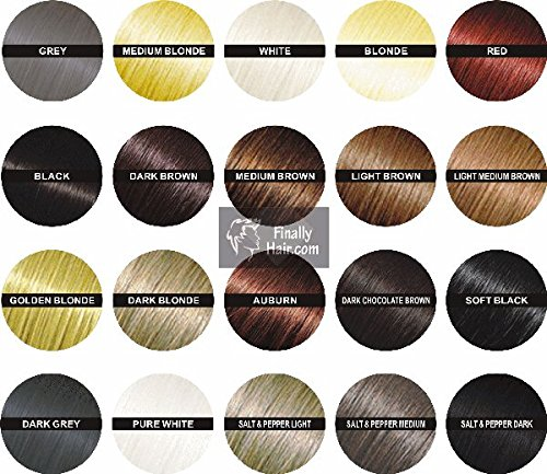 Hair Fibers - Blonde 50 Gram Refill - Refill Your Existing Fiber Bottle - Hair Filler Fibers - Cover Grey Roots Concealer by Finally Hair (50g 50gr 50gram 50 G Gr Light Blond)