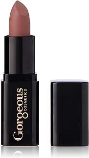 Gorgeous Cosmetics Sheer Finish Lipstick with Vitamin E, Mauve, 4g