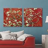 wall26 2 Panel Square Canvas Wall Art -...