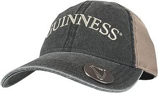 Guinness Olive Grey Adjustable Baseball Cap with Bottle Opener