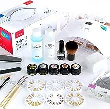 PREGEL プリジェル ジェルネイル スターターキット 日本製カラージェル4色+LEDライト48W ネイルアート 初心者におすすめ