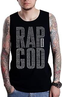 Eminem Rap God Lyrics Logo Tank Top
