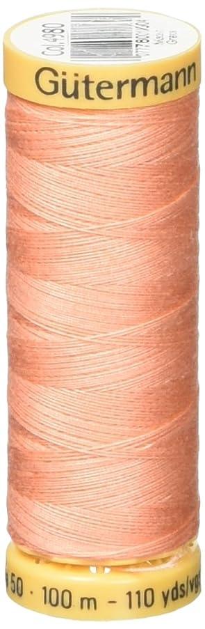 Gutermann Natural Cotton Thread 110 Yards-Light Salmon