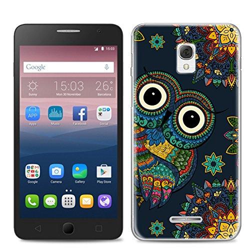 Alcatel OneTouch Pop Star 3G 5022X Tasche, FoneExpert® Ultra dünn TPU Gel Hülle Silikon Case Cover Hüllen Schutzhülle Für Alcatel OneTouch Pop Star 3G 5022X