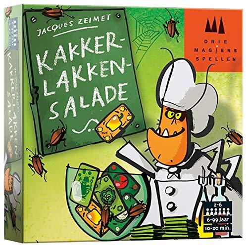 Drie Magiers Spellen 999-Kls01 Kakkerlakkensalade Kaartspel Kaartspel, Alle Kleuren
