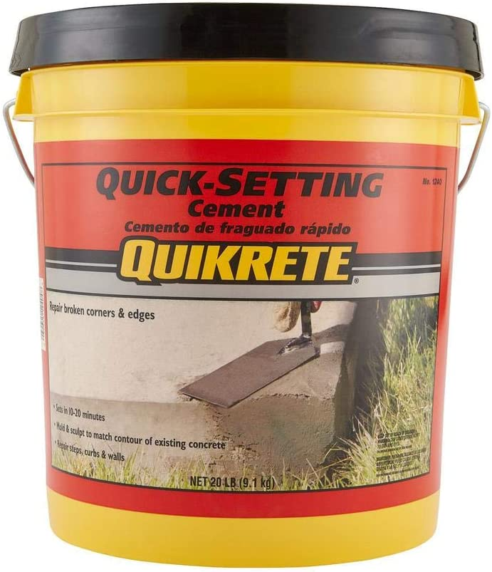 Large-scale sale 3 Pack Quikrete Quick Setting Cement Mix L Concrete 20 10-15 Min Challenge the lowest price of Japan ☆