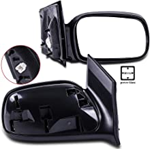 ECCPP Door Mirrors Driver Left Passenger Right Side for 2006-2011 Honda Civic Coupe Power Adjusted Non-Folding Non-Extended Pair Mirrors