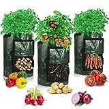 Potato Grow Bags, Afomida 3 Pack 7 Gallon Plant Growing Bags Reusable...