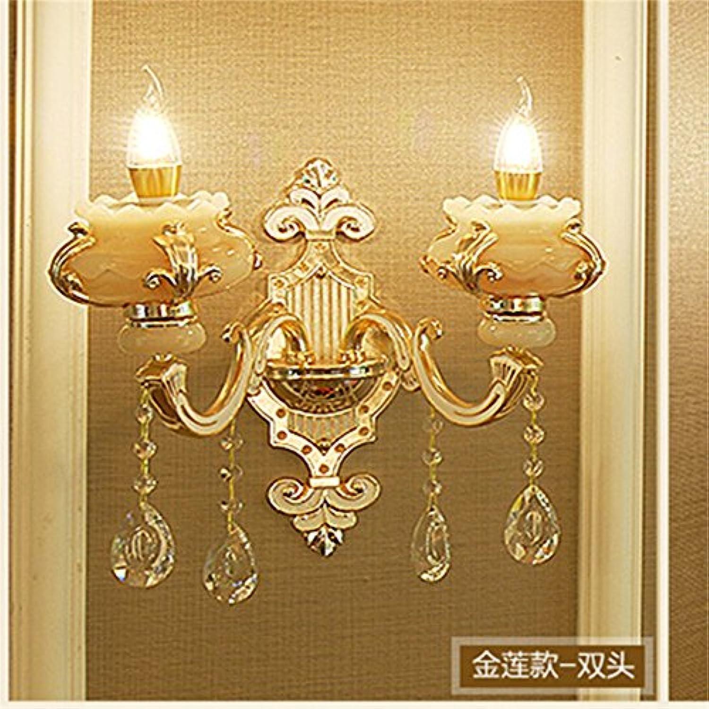 StiefelU LED Wandleuchte nach oben und unten Wandleuchten Zinklegierung Wandleuchten Wohnzimmer Schlafzimmer off road Dual Head crystal Wandleuchte tv Wand LED Kopfleuchte