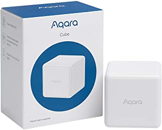 Aqara Cube, Requires AQARA HUB, Zigbee Connection, Magic Cube Controller, 6 Customizable Gestures to Control Your Smart Home Devices, 2 Year Battery Life, Works With IFTTT