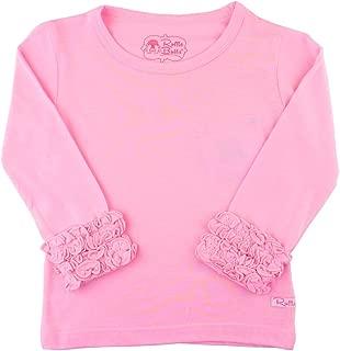 Little Girls Undershirt - Extra Soft Long Sleeve Layering Tee