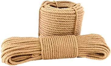 Aoneky 1 Inch 100 Ft Jute Rope