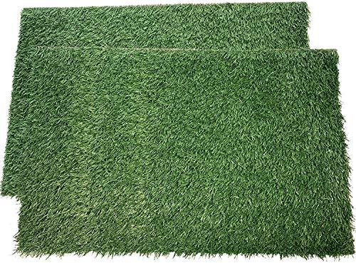 Puppy Potty Pad Grass Mat, Dog Grass Pee Pads, Artificial Turf Pet Grass...