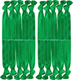 Hair Ties Ponytail Holders 20Pack Yoga Twist Hair Bands Accessories (16# Green)