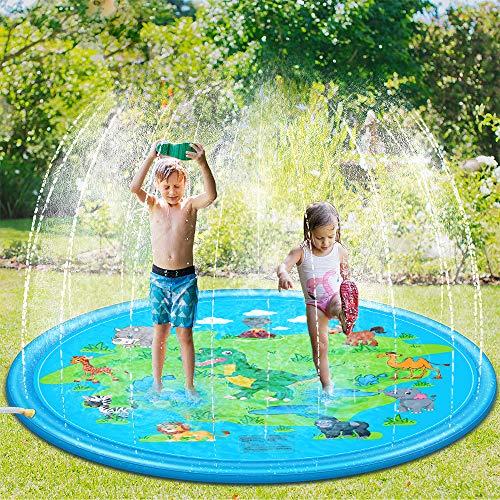 Sooair Juego de Salpicaduras y Salpicaduras, 170 cm Water Sp
