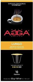 Agga Coffee, Espresso Lungo, 60 Nespresso Compatible Capsules, Intensity 4/6, Compatible with Nespresso OriginalLine Machines