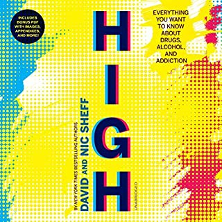 High audiobook cover art