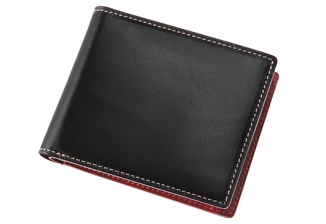 代表団公想定【キプリス】二つ折り財布(小銭入れ付き札入)■ブライドルレザー&ルーガショルダー