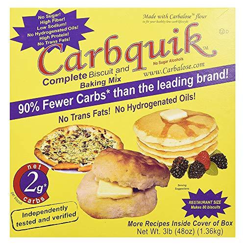 Carbquik Baking Biscuit Mix (48oz) - (Original Version) - PACK OF 4