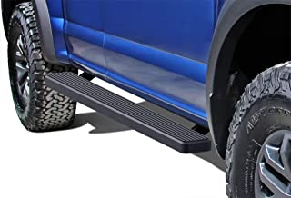 APS iBoard (Black Powder Coated 5 inches) Running Boards Nerf Bars Side Steps Step Rails Compatible with 2015-2020 Ford F150 Super Cab Pickup 4-Door & 2017-2020 Ford F-250 F-350 Super Duty