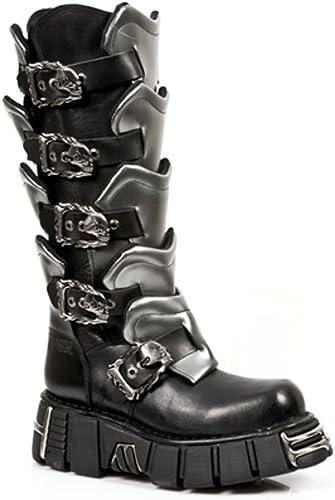 New Rock Stiefel - Hombre Stiefel Estilo 738 S1 schwarz