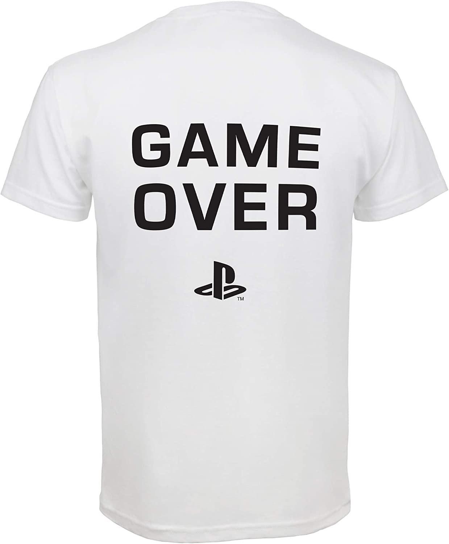 Scherza Il Regalo di Compleanno di Idea Merchandise Ufficiale Videogiocatore Regali Gioco Ragazze Moda Top Playstation Gioco finito Ragazze T-Shirt et/à 6-15 i Vestiti dei Bambini
