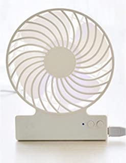 HAIMEI-WU Mini USB Handheld Fan Portable Summer Chilling Galvanic Fan Home Desktop Fan Mini Electric Fan (Color : 04)