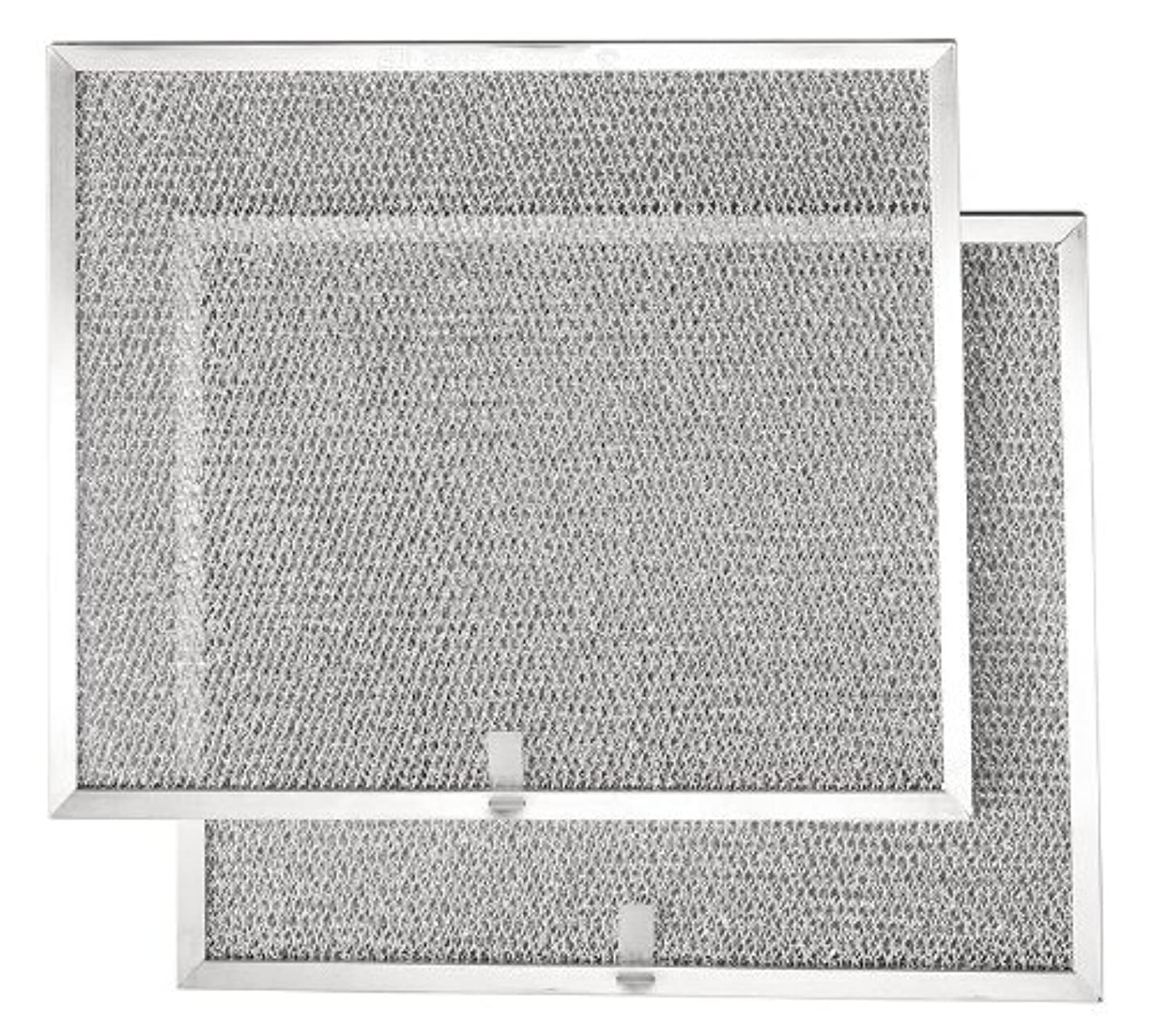 """Broan BPS1FA30 Replacement Filters for QS1 and WS1 30"""" Range Hoods, Aluminum, 2-Pack"""