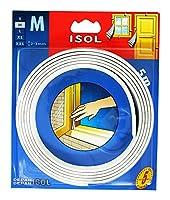 パネフリ工業 すきま風防止テープ (M) 巾9mmX長さ2.5mX2本 ホワイト