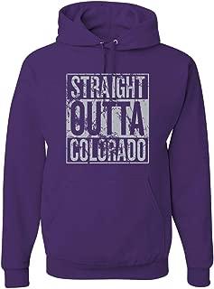 Straight Outta Hometown Fan Team Pride | Fantasy Baseball Fans | Unisex Sports Hooded Sweatshirt Graphic Hoodie
