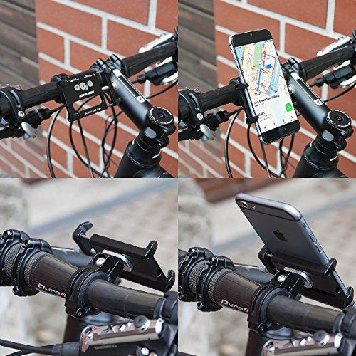 GUB Universal Bike Fahrrad Motorrad Halterung für Handy, Smartphone, Navi usw. - 7