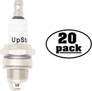UpStart Components 20-Pack Replacement Spark Plug for JONSERED Chain Saw 451E 451EV452455 510SP 521EV525535 535 Classic - Compatible with Champion RCJ7Y & NGK BPMR6F Spark Plugs