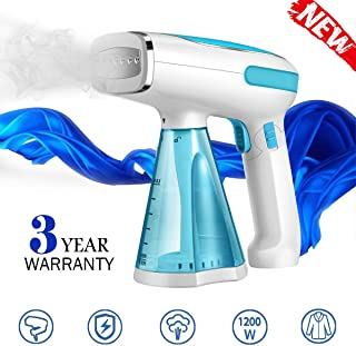Steamer for Clothes Travel Size Clothes Steamer Handheld Garment Steamer Wrinkle Remover Fabric Steamer for Clothes Mini Portable Steamer for Travel and Home Clean Sterilize Fast Heat-Up Safe Steamer