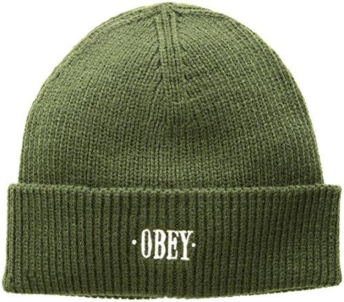 Obey ACCESSORI Cappello Shady Beanie 100030119 (OS - Army)