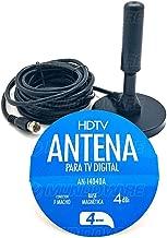 Mini Antena Tv Digital Interna Externa Hdtv Uhf Vhf Fm 4.0