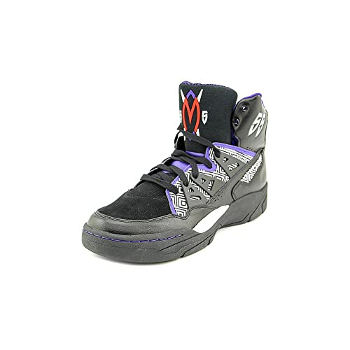 hot sale online 47eb1 ace05 adidas Mutombo Mens in Black Purple White