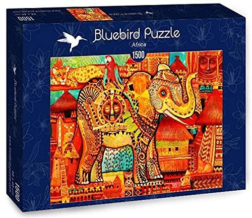 Bluebird Puzzle Africa 70413 - Elefante africano (1500 piezas)